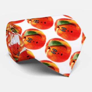 Peach Face Cartoon Tie