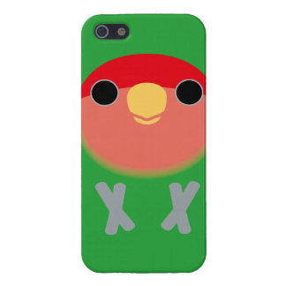 Peach-faced Lovebird Cover For iPhone SE/5/5s