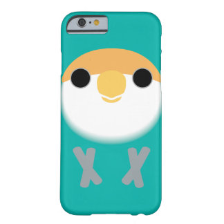 Peach-faced Lovebird (Dutch Blue) Barely There iPhone 6 Case