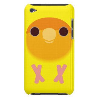Peach-faced Lovebird (Lutino Orange-faced) iPod Case-Mate Cases