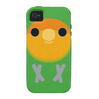 Peach-faced Lovebird (Orange-faced) iPhone 4/4S Case