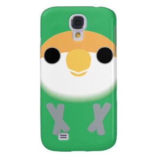 Peach-faced Lovebird (Seagreen) Samsung Galaxy S4 Cover