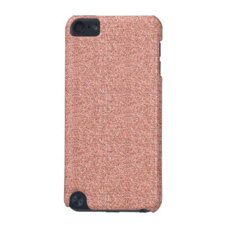 Peach Faux Glitter iPod Touch (5th Generation) Cover