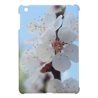 Peach flowers background cover for the iPad mini