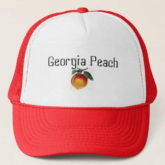 peach, Georgia Peach Trucker Hat