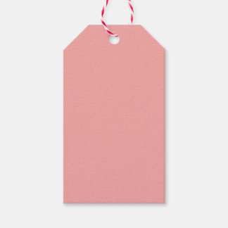 Peach Pack Of Gift Tags