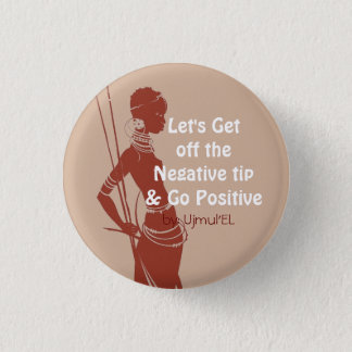 Peach Go Positive button