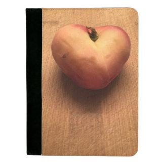 Peach Heart Padfolio