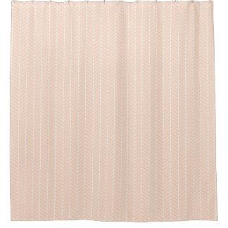 Peach Colored Shower Curtain Stylish Rose Gold Peach Tan