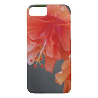 Peach Hibiscus iPhone 7 Case