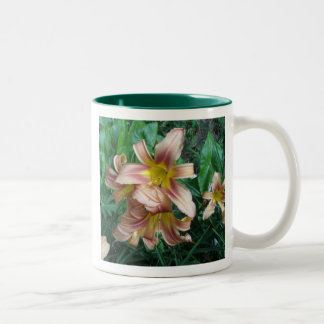 Peach Lily Mug