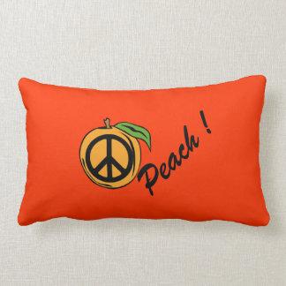 Peach ! lumbar pillow