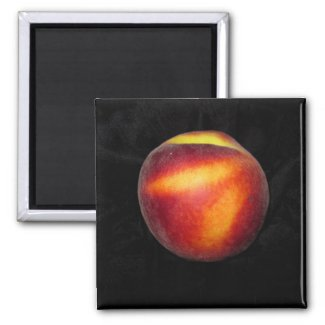 Peach zazzle_magnet