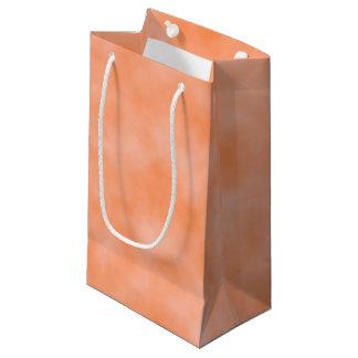 Peach Marbleized Small Gift Bag