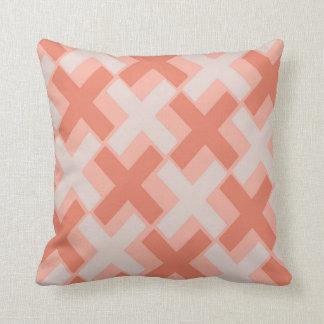 Peach Melba Xs Throw Pillow