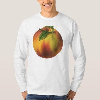 Peach Men's Basic Long Sleeve T-Shirt