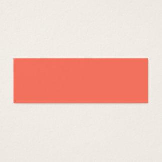Peach Nectarine Fashion Color Trend 2014 Customize Mini Business Card