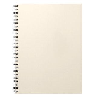 Peach Spiral Notebooks