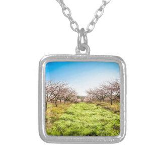 Peach orchard pendants