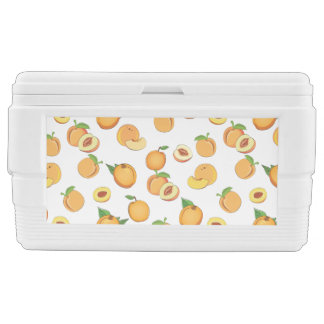 Peach Pattern Chest Cooler