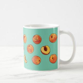 Peach pattern mug - customizable