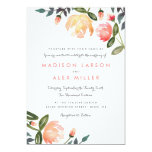 Peach Peonies Card