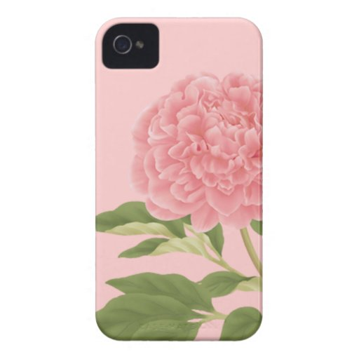 Peach Peony iPhone 4/4S Case-Mate Case iPhone 4 Covers