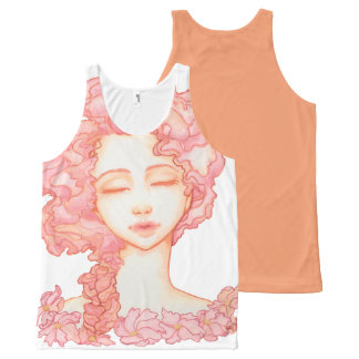 Peach Petal Bloom Tank