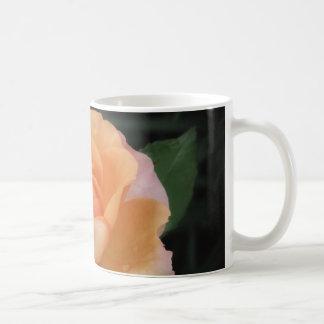Peach Petals - Rose Coffee Mug
