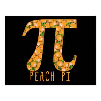 Peach Pi Postcard
