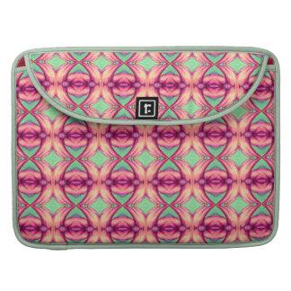 peach pink diamonds MacBook Sleeve 15 inch lime Sleeve For MacBooks