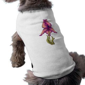 Peach & Purple Iris Shirt