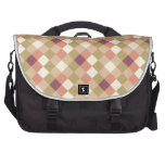 Peach Quilted Pattern Commuter Bags
