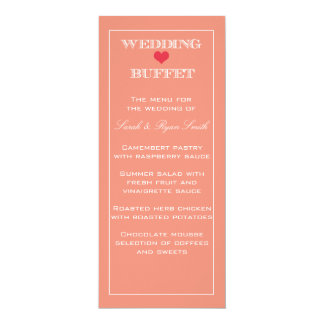 Buffet Menu Cards Buffet Menu Card Templates Postage Invitations Photocards Amp More