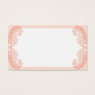Peach romantic elegant invitation template