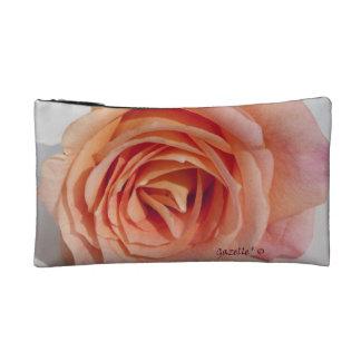 Peach Rose Cosmetic Bag