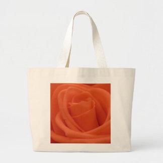 Peach Rose Image - Jumbo Tote Bag