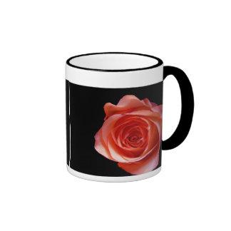 Peach Rose Mugs