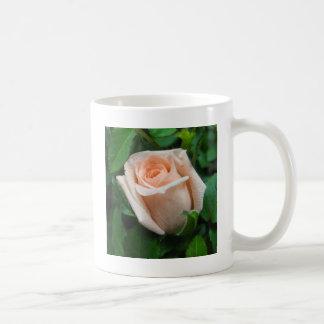 Peach Rose Classic White Coffee Mug