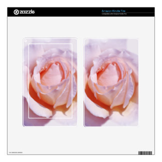 Peach Rose Skins For Kindle Fire