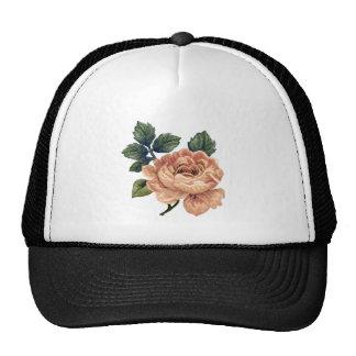 Peach Rose - Vintage Makeover. Mesh Hats