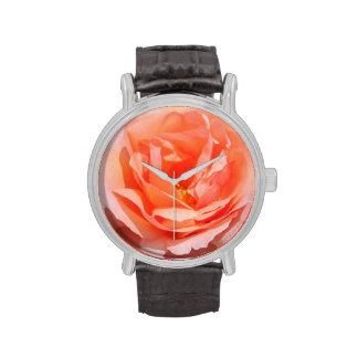 Peach Rose Watch