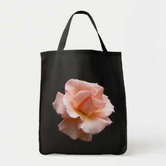 Peach RoseTote Bag Wild Rose Beach Tote Bags
