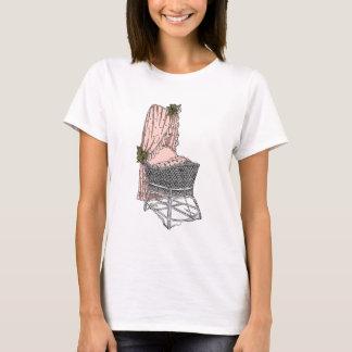Peach Sage Baby Bassinet T-Shirt