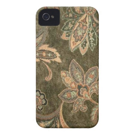 Peach Sage Paisley Blackberry-Bold-9700-9780 Blackberry Case