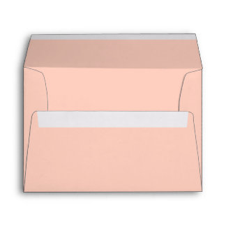 Peach Solid Color Envelopes