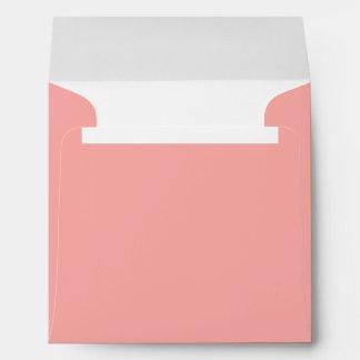 Peach Square Envelopes