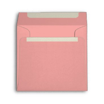 Professional Business Peach Square Felt Envelopes