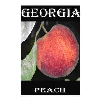 Peach Customized Stationery