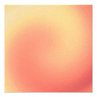 Peach Swirl Invitation